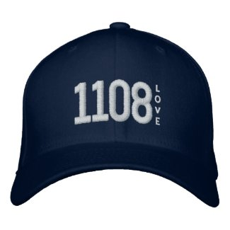 Police Beat 1108 Embroidered Baseball Cap LOVE