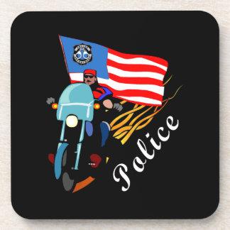 Police Bikers Coaster
