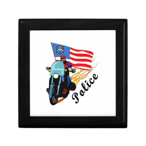 Police Bikers Jewelry Boxes