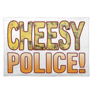 Police Blue Cheesy Placemat