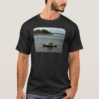 Police Boat Norfolk VA T-Shirt