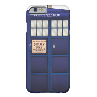 Police Box Barely There iPhone 6 Case