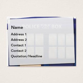 Police Box Business Card