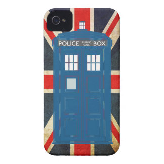 Police Box Customizable iPhone Case iPhone 4 Case-Mate Cases