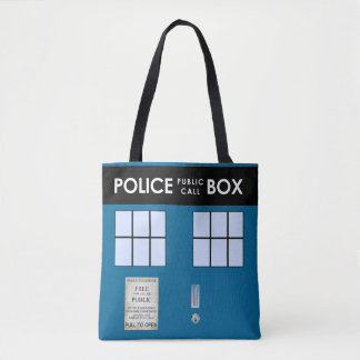 Police Box Customized Tote