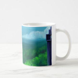Police Box in Texas Hill Country Coffee Mug