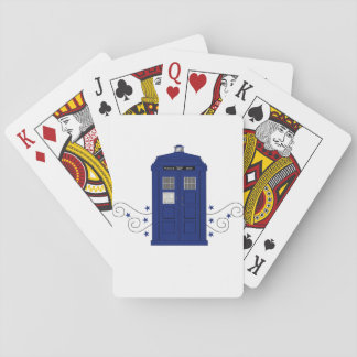 Police Box Swirls Playing Cards