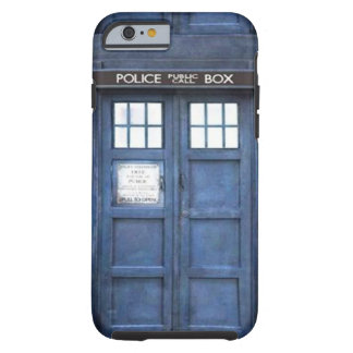 Police Call Box iPhone 6 case