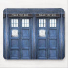 Police Call Box Mouse Pad