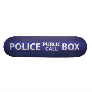 Police Call Box Skateboard