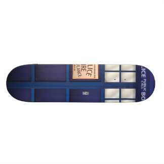 Police Call Box Skateboard Deck