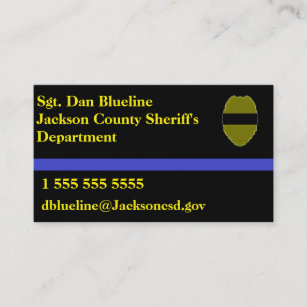 Federal Police Business Cards Zazzle