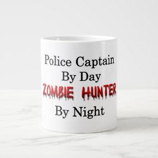 Police Captain/Zombie Hunter Large Coffee Mug