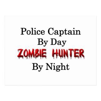 Police Captain/Zombie Hunter Postcard