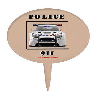 Police_Car_911 Cake Topper