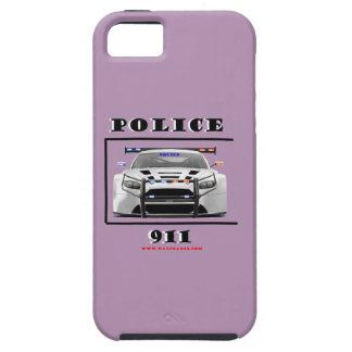 Police_Car_911 iPhone 5 Fundas