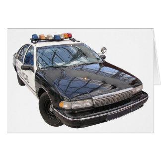 Police Car Card