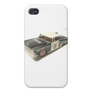 Police Car Case For iPhone 4