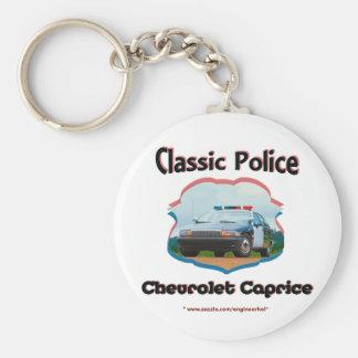 Police Car Chevrolet Caprice Classic Keychain