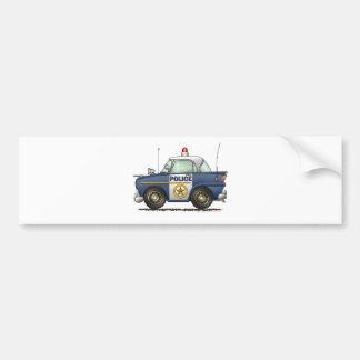 Police Car Law Enforcement Bumper Sticker