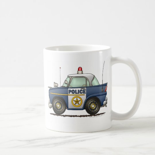 Police Car Law Enforcement Coffee Mug