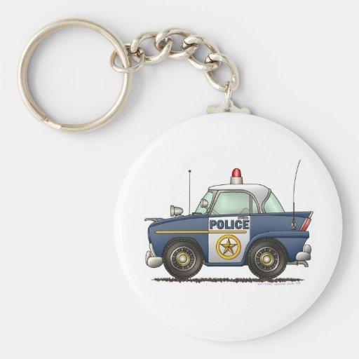 Police Car Law Enforcement Keychain