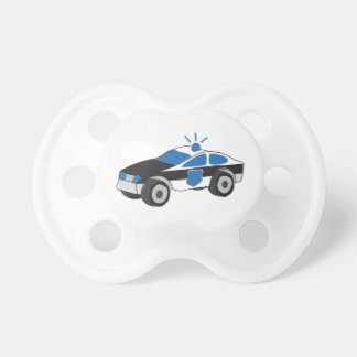 Police Car Pacifier