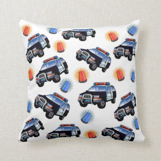 Police Car Pillow