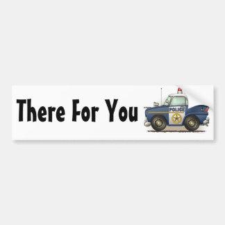 Police Car Police Crusier Cop Bumper Sticker