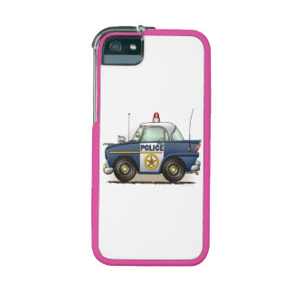Police Car Police Crusier Cop Car iPhone 5/5S Cases