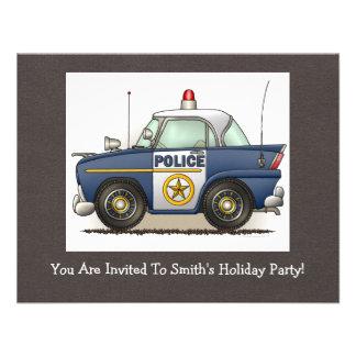 Police Car Police Crusier Cop Car Invite