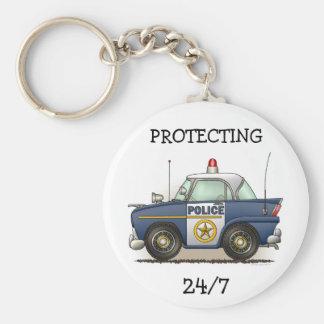 Police Car Police Crusier Cop Car Keychain