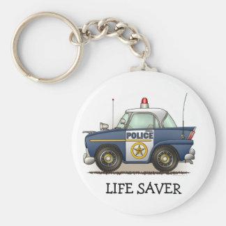 Police Car Police Crusier Cop Car Keychain LS