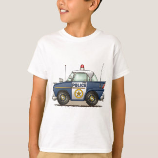 Police Car Police Crusier Cop Car Kids T-Shirt