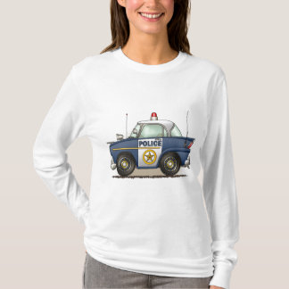Police Car Police Crusier Cop Car Ladies Hoodie