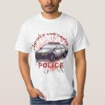 Police Car t-shirt