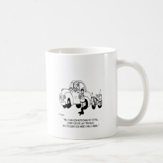 Police Cartoon 6202 Coffee Mug