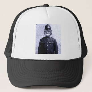 Police Cat Trucker Hat