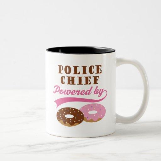 Police Chief Funny Gift Mug
