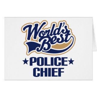 Police Chief Gift Card