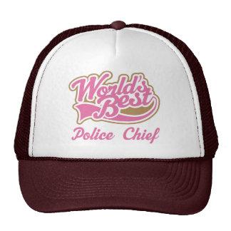 Police Chief Gift Trucker Hat