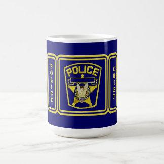 Police Chief shield Coffee Mug