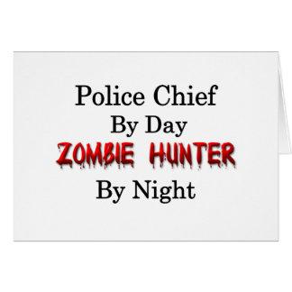 Police Chief/Zombie Hunter Card
