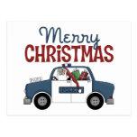 Police Christmas Gift Postcard