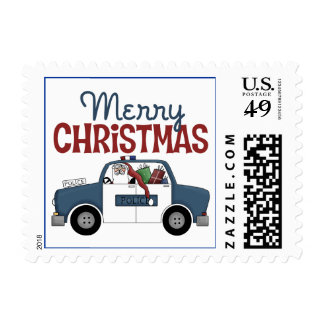 Police Christmas Gift Stamps