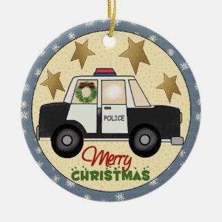 Police Christmas Ornament