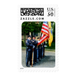 Police Color Guard Postage