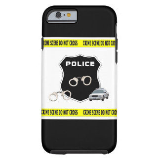 Police Crime Scene Tough iPhone 6 Case