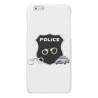 Police Crime Scene Matte iPhone 6 Case