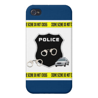 Police Crime Scene Covers For iPhone 4